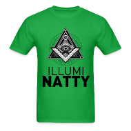 T-Shirts ~ Men's T-Shirt ~ ILLUMINATTY - Tee (black text)