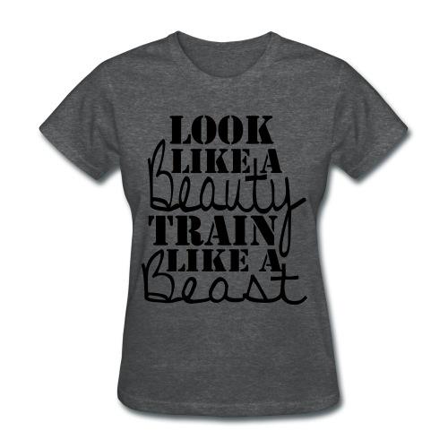 Ladies Beauty & Beast T - Women's T-Shirt