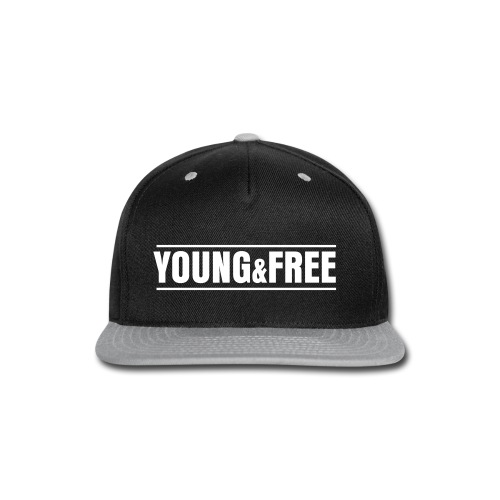 Young & Free Design Hat Flat brim - Snap-back Baseball Cap