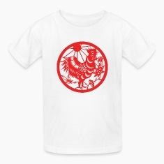 Chinese New Years - Zodiac - Year of the Rooster  Kids' Shirts