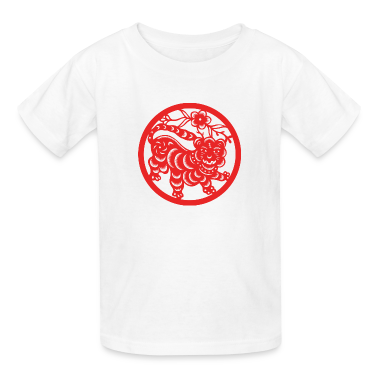 Chinese New Years - Zodiac - Year of the Tiger Kids' Shirts
