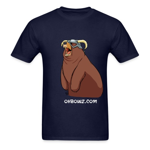 Happy Dovahbear (budget) - Men's T-Shirt