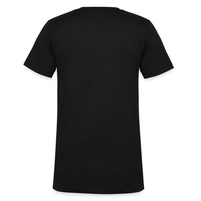 RA Men's V-Neck T-shirt (light logo)