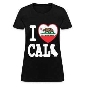 I Heart Cali MAP - Women's T-Shirt