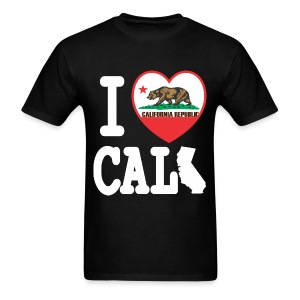 I Heart Cali MAP - Men's T-Shirt