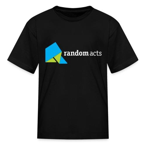 RA Kids' T-Shirt (light logo) - Kids' T-Shirt