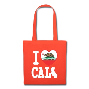 I Heart Cali MAP - Tote Bag