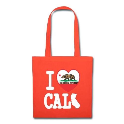 I Heart Cali MAP - Tote Bag