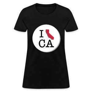 California MAP - Women's T-Shirt
