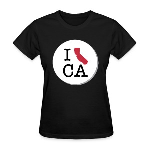 California MAP - Women's T-Shirt