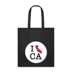 California MAP - Tote Bag