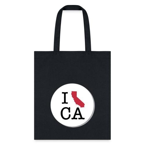 California MAP - Tote Bag