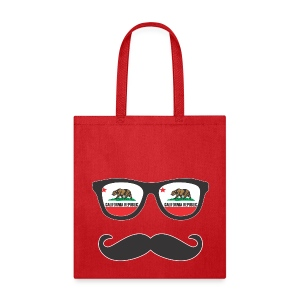 Mr Mustache California - Tote Bag