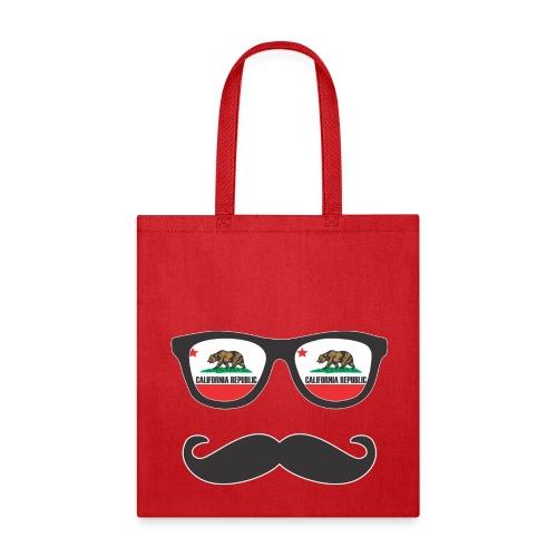 Mr Mustache California - Tote Bag