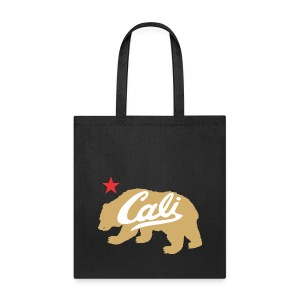 Gold Cali Bear - Tote Bag