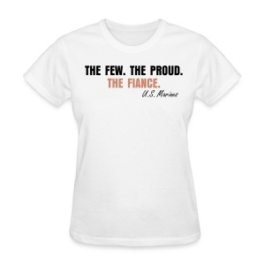 Women's T-Shirt - THE FIANCE. - glittery pink.