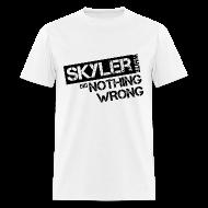 T-Shirts ~ Men's T-Shirt ~ Breaking Bad T-Shirts: Skyler White did Nothing Wrong