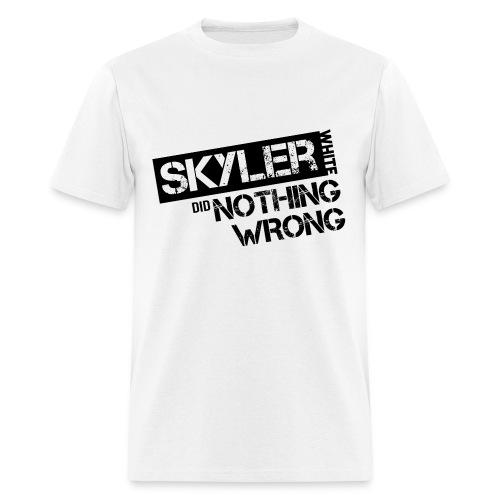 Breaking Bad T-Shirts: Skyler White did Nothing Wrong - Men's T-Shirt