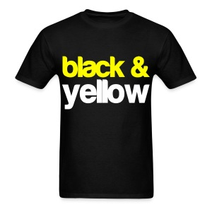 Wiz Khalifa Black And Yellow - Men's T-Shirt