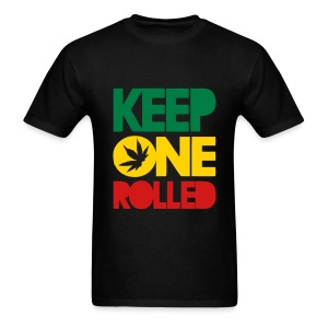 Wiz Khalifa Keep One Rolled - Men's T-Shirt