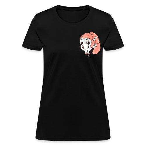 2 kawaii pocket ladies black - Women's T-Shirt