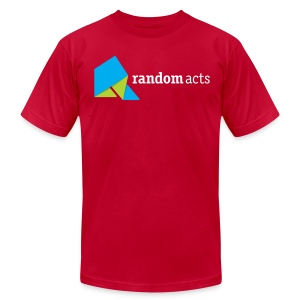 RA Men's T-shirt (light logo) - Men's T-Shirt by American Apparel