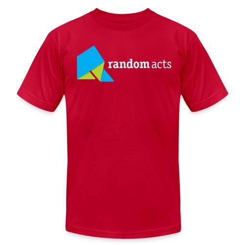 RA Men's T-shirt (light logo) - Men's Jersey T-Shirt