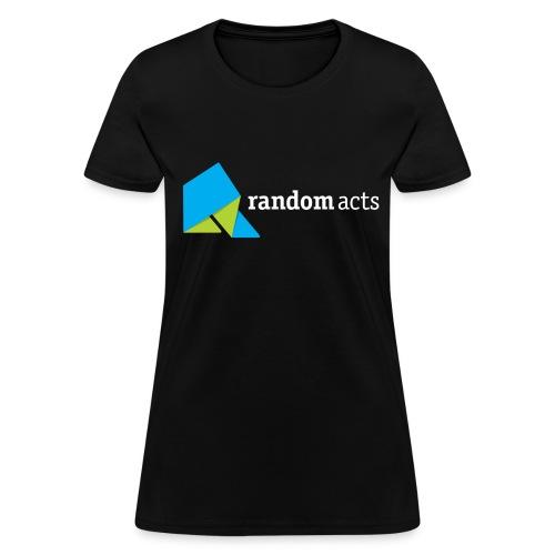 RA Women's Standard Weight T-Shirt (light logo) - Women's T-Shirt