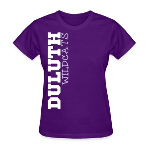 Duluth Wildcats Side - Women's T-Shirt