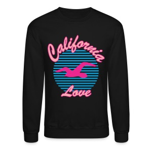 California LOVELY BIRD - Crewneck Sweatshirt