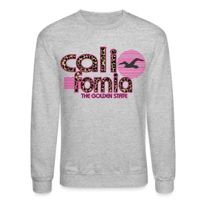 California The Golden State - Crewneck Sweatshirt