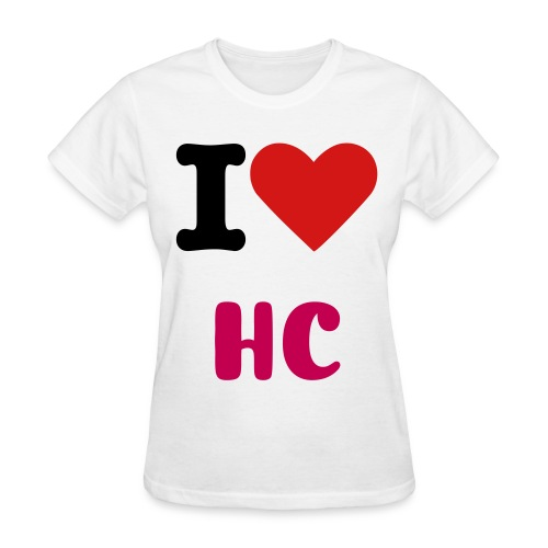 I Heart HC  - Women's T-Shirt