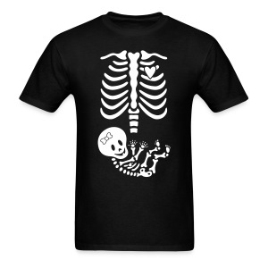 15 Maternity Skeleton X-ray (non maternity shirt) - Men's T-Shirt