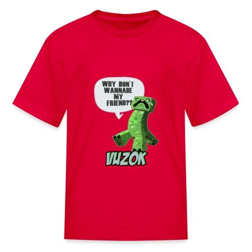 Kids Friendly Creeper Tee! - Kids' T-Shirt