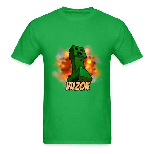 Men's T-Shirt - This awesome Minecraft T-Shirt comes with a cool Minecraft Creeper drawing on the front!