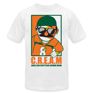 C.R.E.A.M - Men's T-Shirt by American Apparel