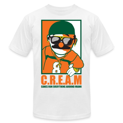 C.R.E.A.M - Men's Fine Jersey T-Shirt