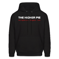 Hoodies ~ Men's Hoodie ~ Official Higher Pie Hoodie (Editable!)