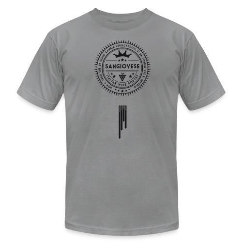 Italian Wine Poetry - SANGIOVESE - Men's Fine Jersey T-Shirt