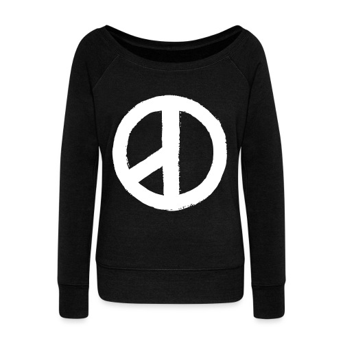 Coup D'etat-Double Sided  - Women's Wideneck Sweatshirt
