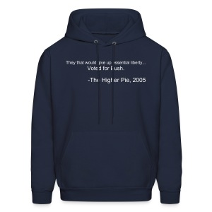 Official Higher Pie Ben Franklin Hoodie (Editable!) - Men's Hoodie