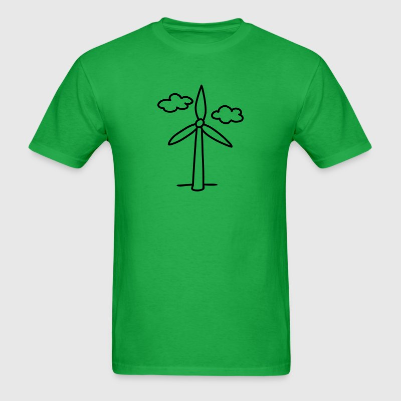 windmill - wind turbine T-Shirts - Men's T-Shirt