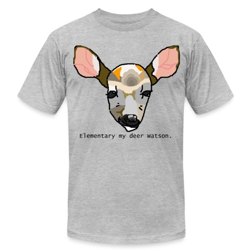 Oh Deer for men, or women, whatever. - Men's Fine Jersey T-Shirt