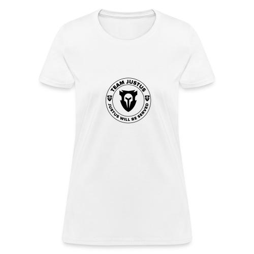 Team JusTus Small Badge Tee - Women's T-Shirt