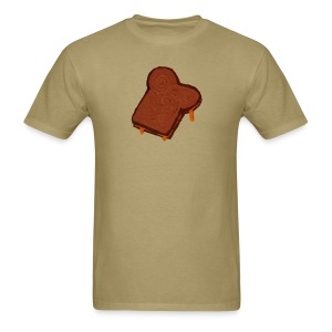 Grilled Cheese Of Jesus - higher up - Men's T-Shirt