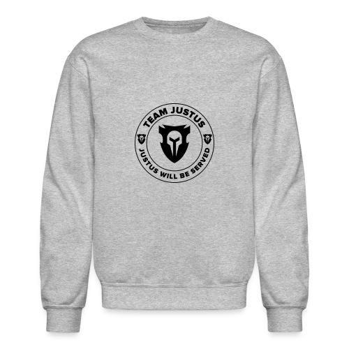 JusTus Badge Sweatshirt - Crewneck Sweatshirt
