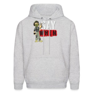 Say when logo hoodie - Men's Hoodie