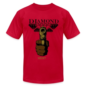 Blood Diamond - Men's T-Shirt by American Apparel