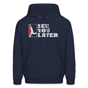 See You Later - Men's Hooded Sweatshirt - Men's Hoodie