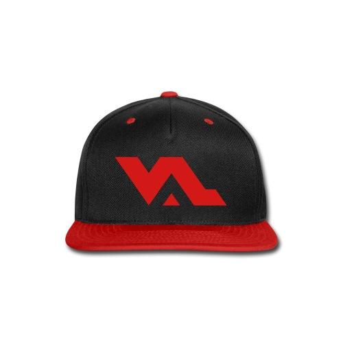 VAL logo snap back hat - Snap-back Baseball Cap